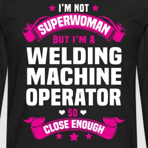 Welding Machine Operator T-Shirts - Men's Premium Long Sleeve T-Shirt