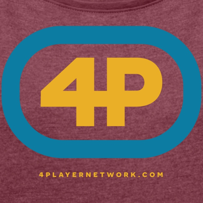 4Player Retro Logo (Color) - Women's T Shirt