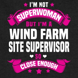 Wind Farm Site Supervisor T-Shirts - Sweatshirt Cinch Bag