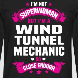 Wind Tunnel Mechanic T-Shirts - Men's Premium Long Sleeve T-Shirt