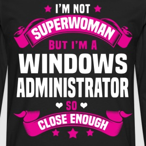 Windows Administrator T-Shirts - Men's Premium Long Sleeve T-Shirt