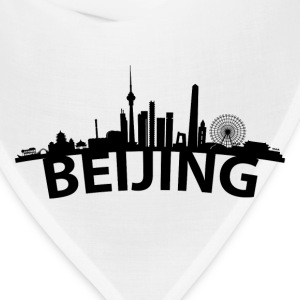 Arc Skyline Of Beijing China - Bandana