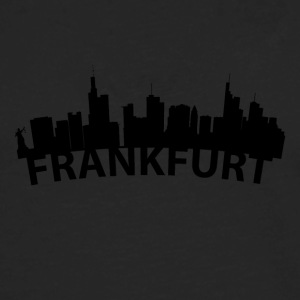 Arc Skyline Of Frankfurt Germany - Men's Premium Long Sleeve T-Shirt