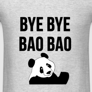 BYE BYE BAO BAO The Cute Panda is Leaving USA Tee Hoodies - Men's T-Shirt