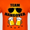 Team Hangover Sunglasses Beer Alcohol Party Funny  - Men's T-Shirt