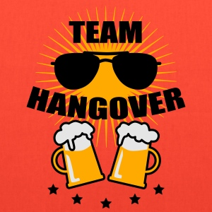 Team Hangover Sunglasses Beer Alcohol Party Funny  - Tote Bag