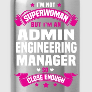 Admin Engineering Manager T-Shirts - Water Bottle