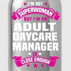 Adult Daycare Manager T-Shirts - Water Bottle