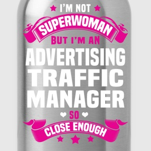 Advertising Traffic Manager T-Shirts - Water Bottle