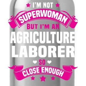 Agriculture Laborer T-Shirts - Water Bottle