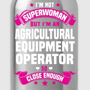 Agricultural Equipment Operator T-Shirts - Water Bottle
