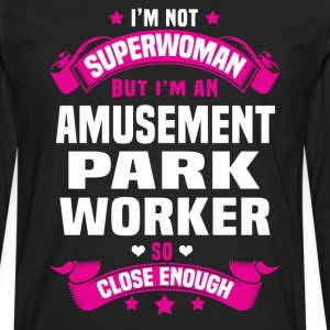 Amusement Park Worker T-Shirts - Men's Premium Long Sleeve T-Shirt