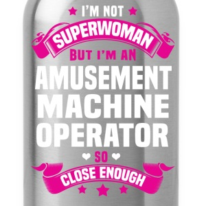Amusement Machine Operator T-Shirts - Water Bottle