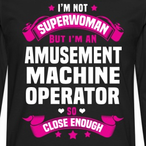 Amusement Machine Operator T-Shirts - Men's Premium Long Sleeve T-Shirt