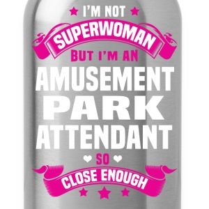 Amusement Park Attendant T-Shirts - Water Bottle