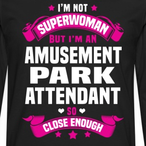 Amusement Park Attendant T-Shirts - Men's Premium Long Sleeve T-Shirt
