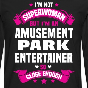 Amusement Park Entertainer T-Shirts - Men's Premium Long Sleeve T-Shirt