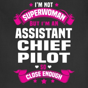 Assistant Chief Pilot T-Shirts - Adjustable Apron
