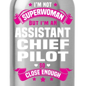 Assistant Chief Pilot T-Shirts - Water Bottle
