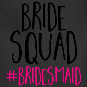 Bride Squad Bridesmaid  T-Shirts - Adjustable Apron