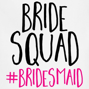 Bride Squad Bridesmaid  Tanks - Adjustable Apron