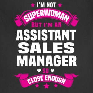 Assistant Sales Manager T-Shirts - Adjustable Apron