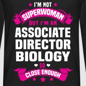 Associate Director Biology T-Shirts - Men's Premium Long Sleeve T-Shirt