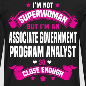 Associate Government Program Analyst T-Shirts - Men's Premium Long Sleeve T-Shirt