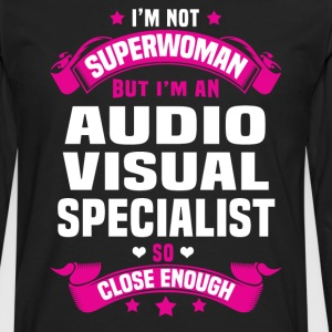 Audio Visual Specialist T-Shirts - Men's Premium Long Sleeve T-Shirt