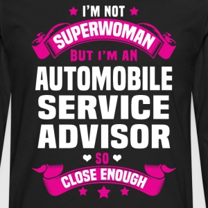 Automobile Service Advisor T-Shirts - Men's Premium Long Sleeve T-Shirt