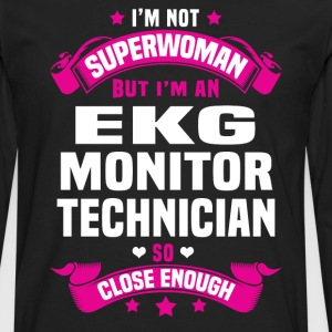 EKG Monitor Technician T-Shirts - Men's Premium Long Sleeve T-Shirt
