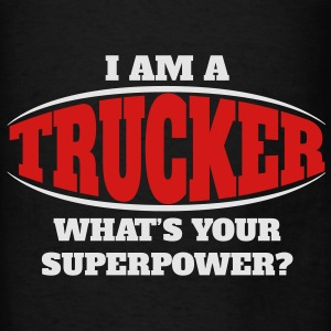 Trucker Superpower Bags & backpacks - Men's T-Shirt