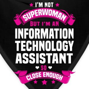 Information Technology Assistant T-Shirts - Bandana