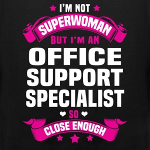 Office Support Specialist T-Shirts - Men's Premium Tank
