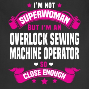 Overlock Sewing Machine Operator T-Shirts - Adjustable Apron
