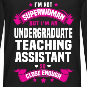 Undergraduate Teaching Assistant T-Shirts - Men's Premium Long Sleeve T-Shirt
