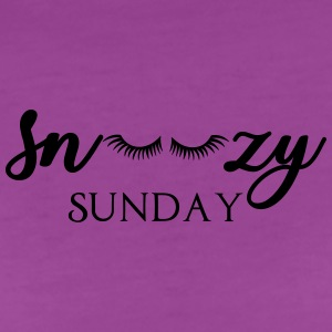 Snoozy Sunday Baby Bodysuits - Women's Premium T-Shirt