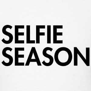 Selfie season Long Sleeve Shirts - Men's T-Shirt