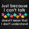 Just Because I Can't Talk - Kids' Premium T-Shirt