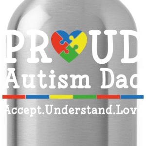 Proud Autism Dad - Water Bottle