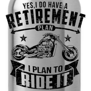 Biker Retirement T-Shirts - Water Bottle