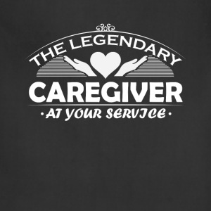 Caregiver  - The legendary caregiver at your servi - Adjustable Apron