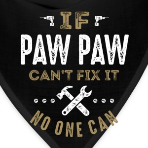 Paw Paw Can Fix It T-shirt - Bandana