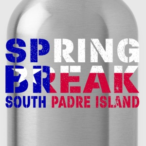 sprin break South Padre I T-Shirts - Water Bottle