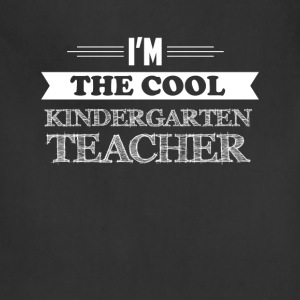Kindergarten Teacher - I'm the cool Kindergarten T - Adjustable Apron