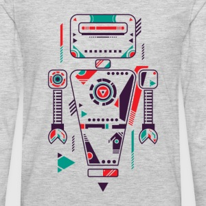 The Robot T-Shirts - Men's Premium Long Sleeve T-Shirt