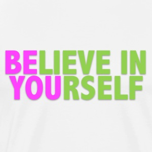 Be You - Pink & Green Tanks - Men's Premium T-Shirt