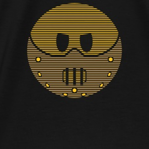 Hannibal Lecter Smiley Face - Men's Premium T-Shirt