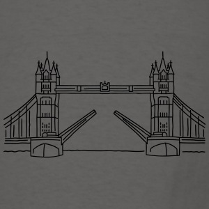London Tower Bridge Aprons - Men's T-Shirt