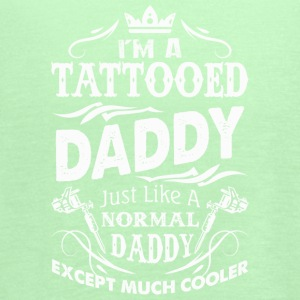 Tattooed Daddy Just Like A Normal Dad T Shirt - Women's Flowy Tank Top by Bella